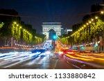 paris  france september 25 ... | Shutterstock . vector #1133880842