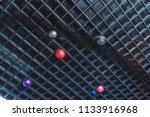 air balls under the ceiling.... | Shutterstock . vector #1133916968