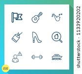 modern  simple vector icon set... | Shutterstock .eps vector #1133920202