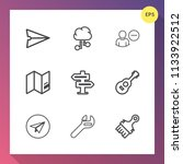 modern  simple vector icon set...   Shutterstock .eps vector #1133922512