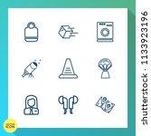 modern  simple vector icon set... | Shutterstock .eps vector #1133923196