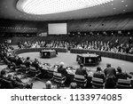 brussels  belgium   jul 12 ...   Shutterstock . vector #1133974085