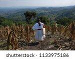 san miguel tzinacapan  puebla...   Shutterstock . vector #1133975186