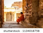 Hampi  India   April 24  2014 ...