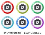 toolkit web vector icons  set... | Shutterstock .eps vector #1134020612