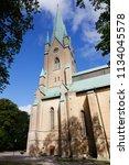 linkoping  sweden   august 21 ... | Shutterstock . vector #1134045578