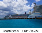 cozumel  mexico   may 04  2018  ...   Shutterstock . vector #1134046922