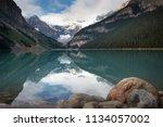 Lake Louise Reflection  Banff...