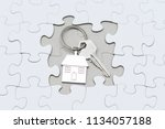 concept site or home area  key... | Shutterstock . vector #1134057188