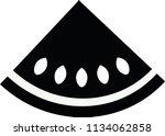 black and white quarter... | Shutterstock .eps vector #1134062858