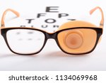 ortopad eye patches flesh... | Shutterstock . vector #1134069968