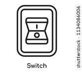 switch icon vector isolated on...   Shutterstock .eps vector #1134086006
