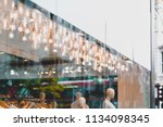 retail fashion store shop front ... | Shutterstock . vector #1134098345