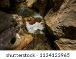 the sapadere canyon in the... | Shutterstock . vector #1134123965