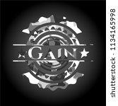 gain grey camouflage emblem   Shutterstock .eps vector #1134165998
