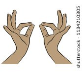 isolated vector illustration of ... | Shutterstock .eps vector #1134210305