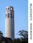 completed in 1933  coit tower... | Shutterstock . vector #1134210758