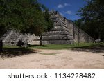 ruins of pyramids in mexico   Shutterstock . vector #1134228482