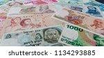 old israeli banknotes | Shutterstock . vector #1134293885