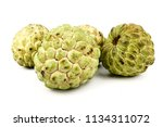 sugar apple  custard apple ... | Shutterstock . vector #1134311072