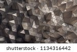 abstract 3d rendering of... | Shutterstock . vector #1134316442