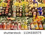 italy naples 06 july 2018. sale ... | Shutterstock . vector #1134330575