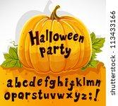Halloween Party Cut Out Pumpki...