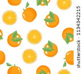 seamless pattern of whole and... | Shutterstock .eps vector #1134342215
