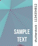 minimum geometric coverage.... | Shutterstock .eps vector #1134354812