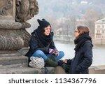 prague czech republic   03 17... | Shutterstock . vector #1134367796