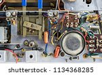 close up of a generic vintage... | Shutterstock . vector #1134368285