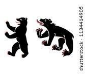raster illustration symbol of... | Shutterstock . vector #1134414905