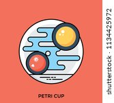 bacterial microorganism and... | Shutterstock .eps vector #1134425972