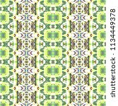 mosaic endless colorful pattern ... | Shutterstock . vector #1134449378