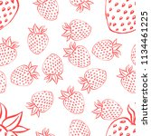 seamless pattern with... | Shutterstock .eps vector #1134461225
