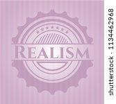 realism pink emblem | Shutterstock .eps vector #1134462968