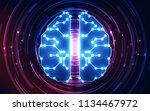 vector abstract artificial...   Shutterstock .eps vector #1134467972