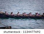 castro urdiales  spain   july... | Shutterstock . vector #1134477692
