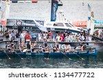 castro urdiales  spain   july... | Shutterstock . vector #1134477722