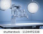 3d rendering surgery room with...   Shutterstock . vector #1134492338