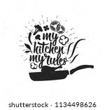 hand drawn typography poster.... | Shutterstock .eps vector #1134498626