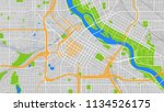design art map city minneapolis | Shutterstock .eps vector #1134526175