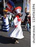 san pedro atocpan  mexico...   Shutterstock . vector #1134561896