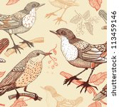 vector seamless pattern with... | Shutterstock .eps vector #113459146