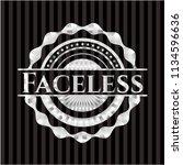 faceless silvery emblem   Shutterstock .eps vector #1134596636