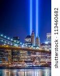 911 Lights Over New York City ...