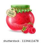 natural organic homemade... | Shutterstock .eps vector #1134611678