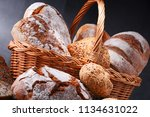 composition with assorted... | Shutterstock . vector #1134631022