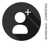 add friend vector icon. add...   Shutterstock .eps vector #1134635162