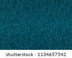 binary computer code seamless...   Shutterstock .eps vector #1134657542